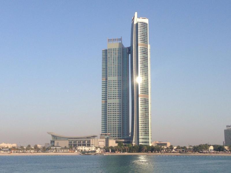 #برج_الأمة Nation Tower في أبوظبي
