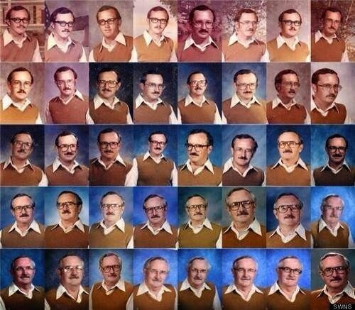 دكتور أمريكي خلال اكثر من ٤٠ عام لم يغير ملابسه التي يتصور بها