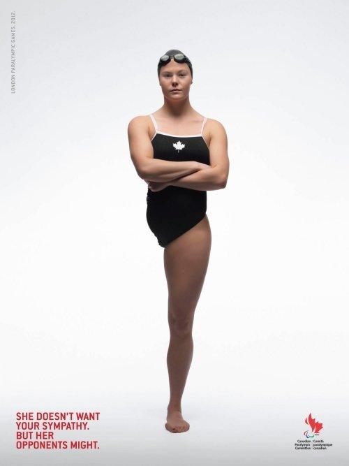 اعلانات مطبوعة مبدعة - أولمبياد ذوي الاحتياجات الخاصة - #اعلان
