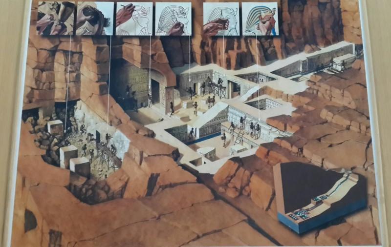 كيف كانت تبنى المقابر في وادي الملوك؟ #مصر_في_صور