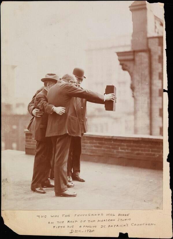 selfie in 1920