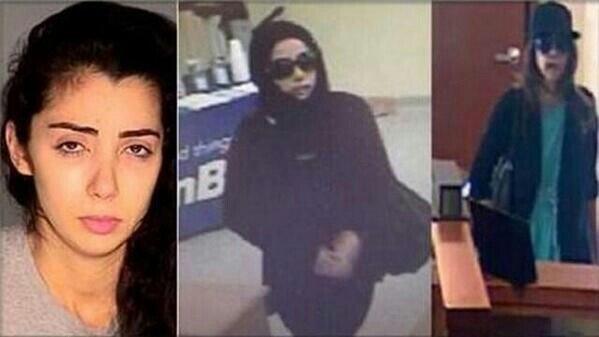صورة السعودية التي سرقت 5 بنوك أمريكية