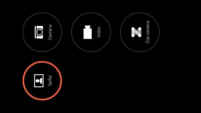 تغيير اسم الكاميرا الامامية في HTC