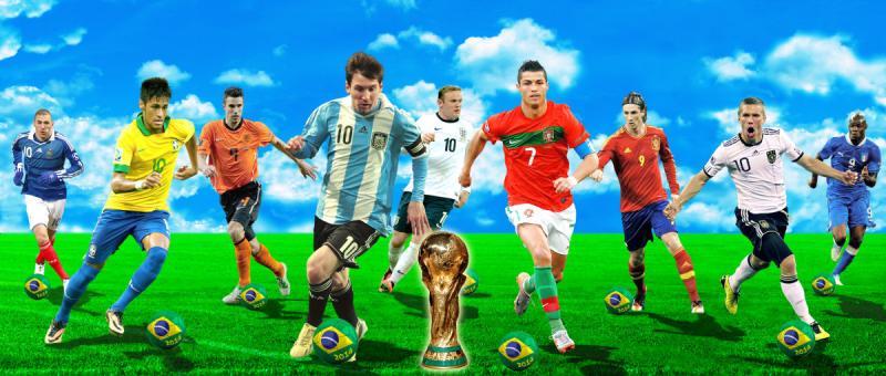 نجوم كأس العالم 2014