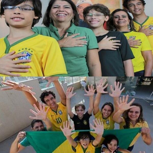عائلة برازيلية معظم أفرادها تمتلك(ستة أصابع)