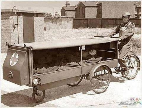 #صورة لأقدم إسعاف في العالم