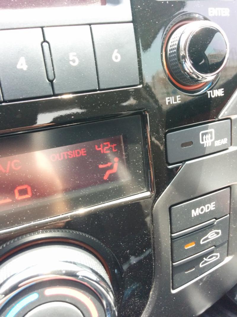 الحرارة الان في #دبي