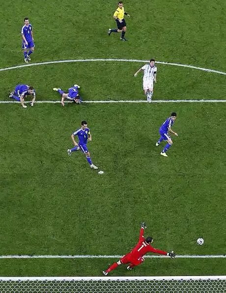 هدف ميسي في البوسنة والهرسك #كأس_العالم