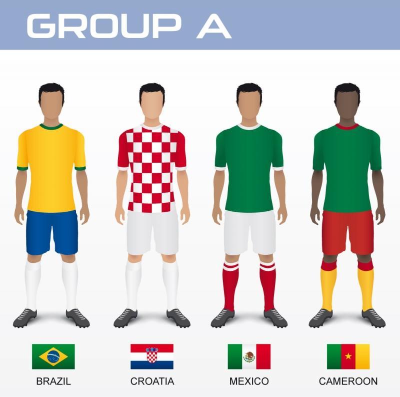 الكاميرون-المكسيك-كرواتيا-البرازيل