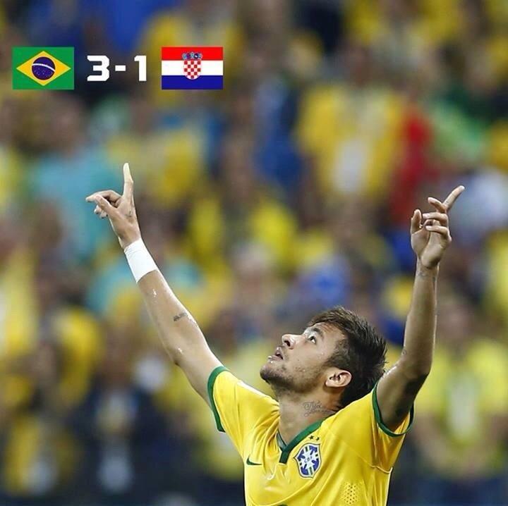 نتيجة مباراة البرازيل و كرواتيا في كأس العالم