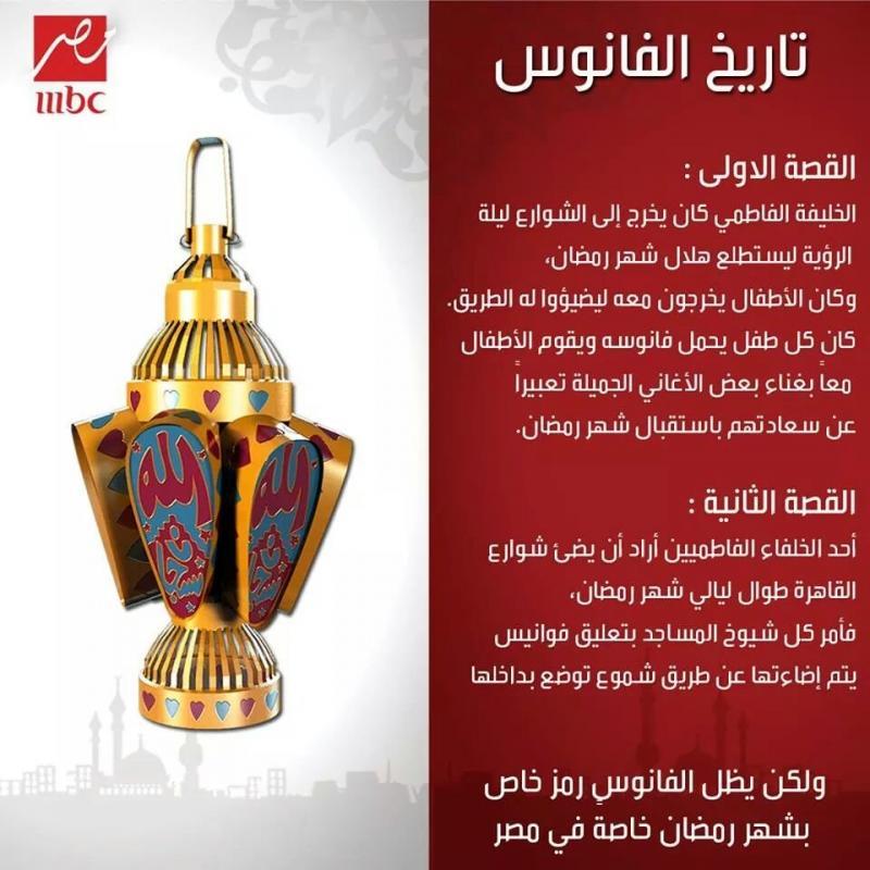 تاريخ فانوس #رمضان