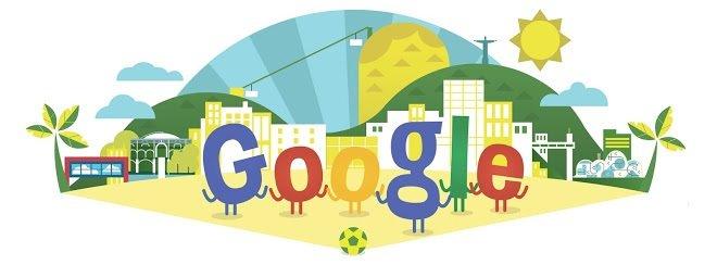 #جوجل تحتفل ب #كأس_العالم ٢٠١٤