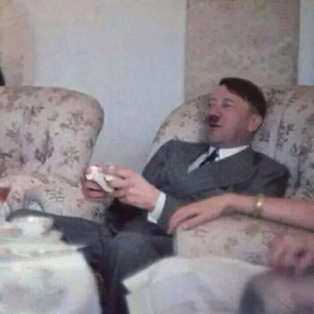 ردة فعل هتلر على نتيجة مباراة #البرازيل_المانيا #كأس_العالم