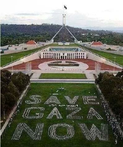 From Aussies! For Palestine! For Justice! Thank you Australia!