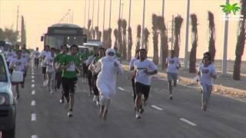سعودي يخترق و يتصدر ماراثون #اجل_هو_سعودي