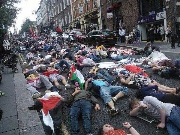 Protest in Ireland for Palestine