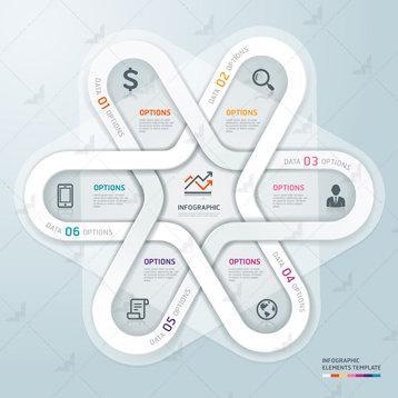 أفكار ومكونات #انفوجرافيك 5