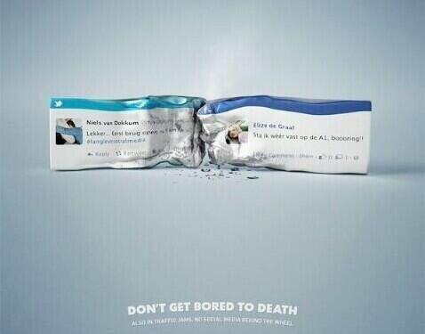 إعلان: الملل حتی الموت بشكل حرفي #حوادث_شبكات_التواصل
