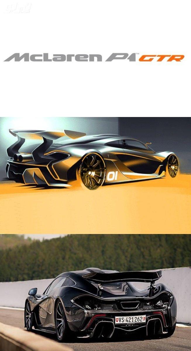 مرسيدس تطلق سيارتها الجديدة Mclaren P1 GTR بتصميم ثوري