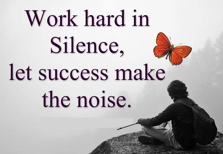 اجعل نجاحك يتكلم عنك