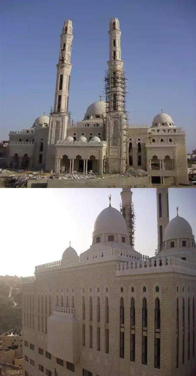 مسجد الشيخ خليفة في القدس سيكون جاهزا قبل نهاية العام