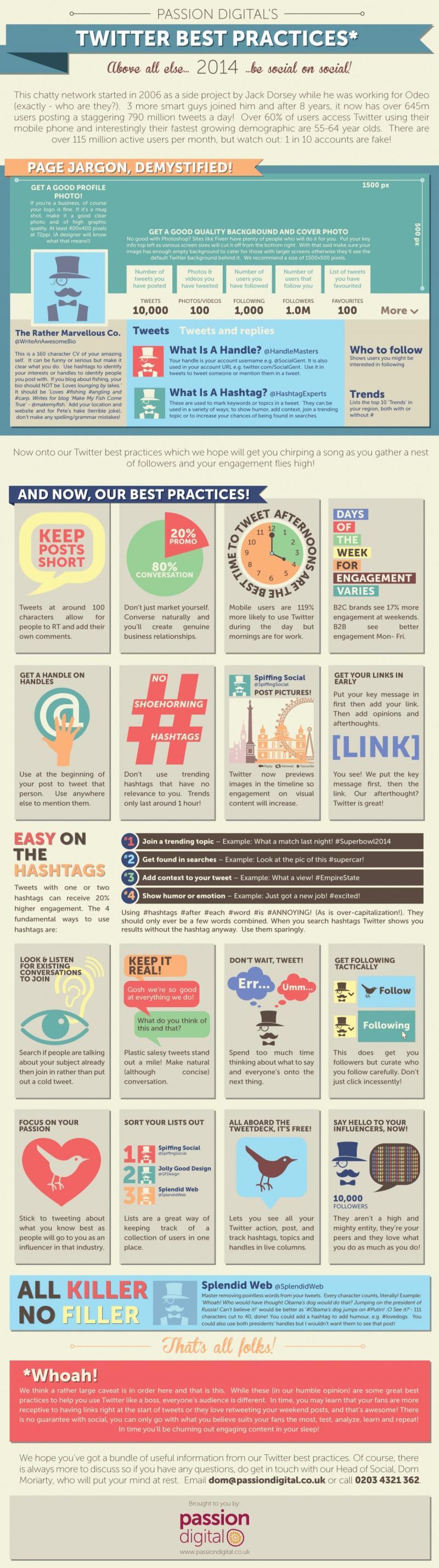 Best Practices in #Twitter 2014