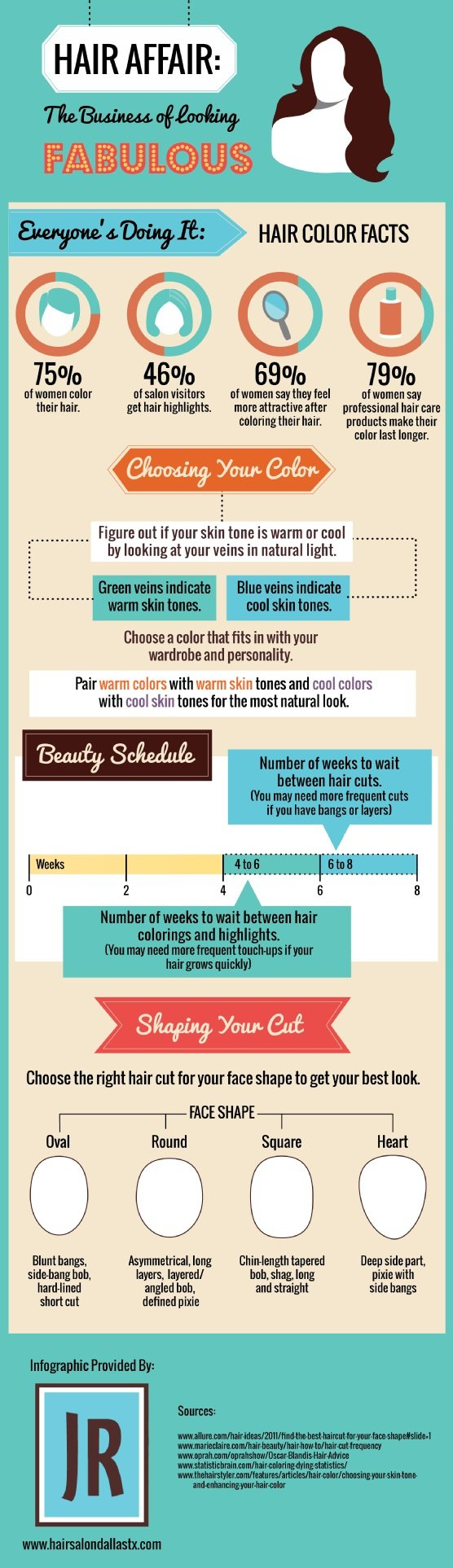 HairAffair: The Business of Looking Fabulous #infographic