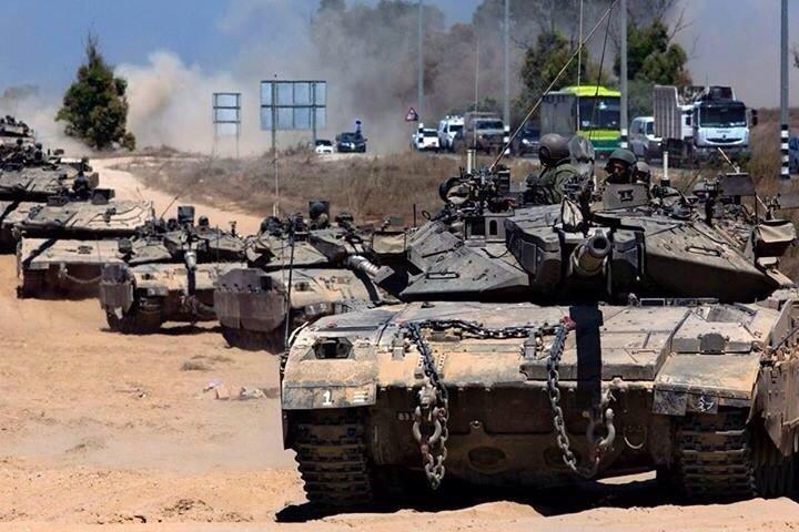 صور الاليات  #انسحاب_إسرائيل_من_غزة