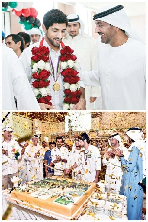 الشيخ حمدان بن محمد بن راشد بطلا للعالم في سباق القدرة #دبي