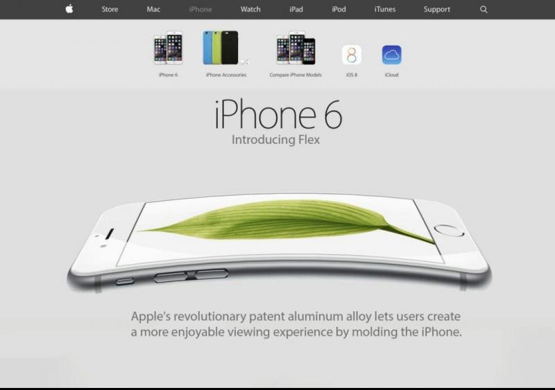 #Apple introduces iphone 6 flex #iphone6plus #bendgate