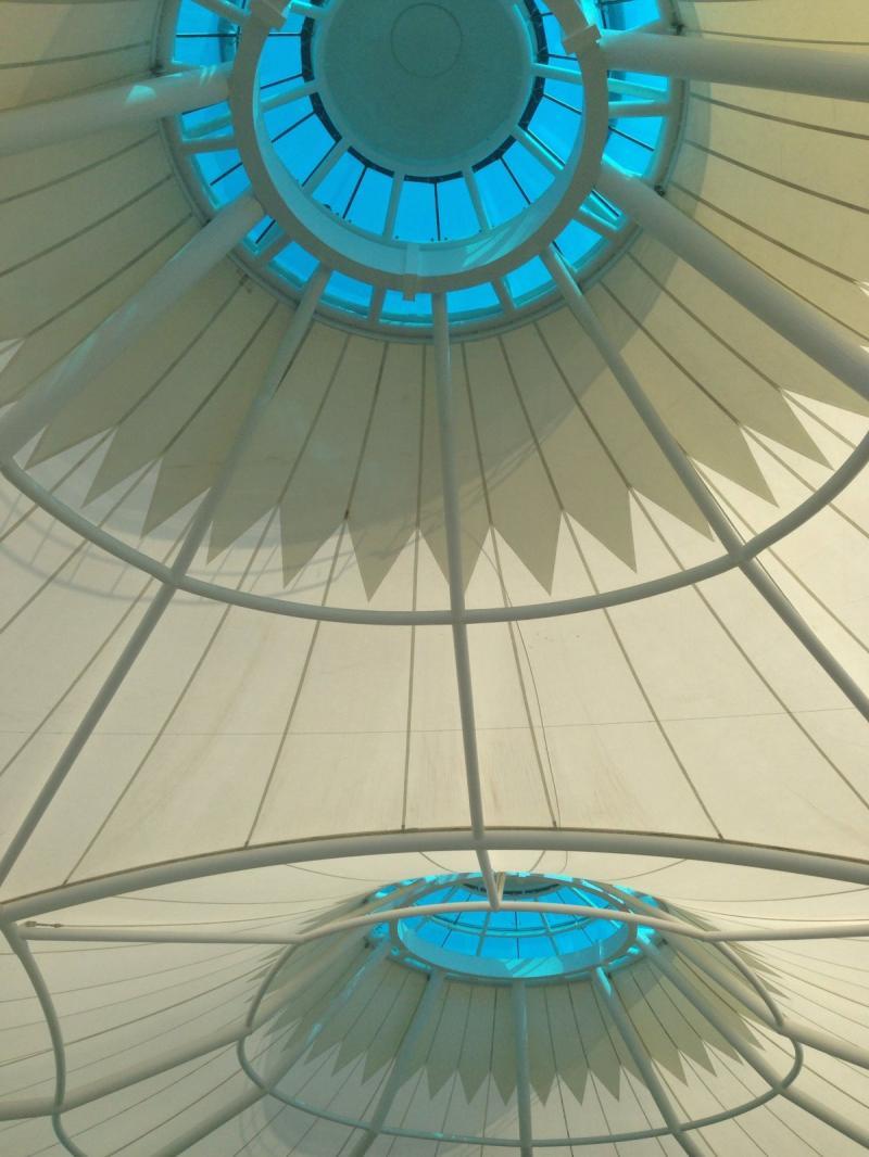 سقف المشرف مول في #أبوظبي