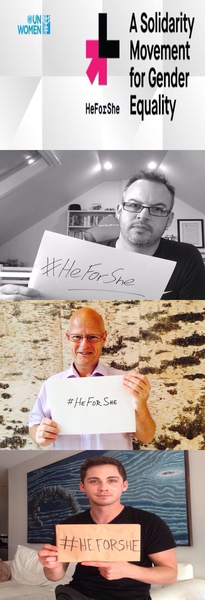 The Most Viral Set of Photos on #Twitter #HeforShe