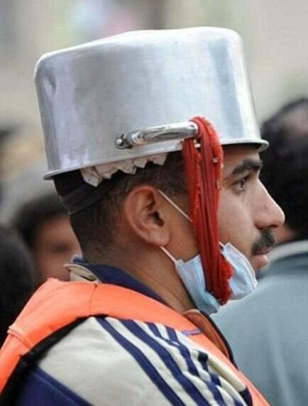 سلاح الدفاع العربي خلال المظاهرات