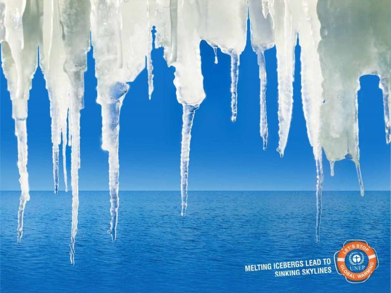اعلان للتوعية بالانحباس الحراري #اعلان #تسويق