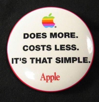 I wonder if #Apple remember this