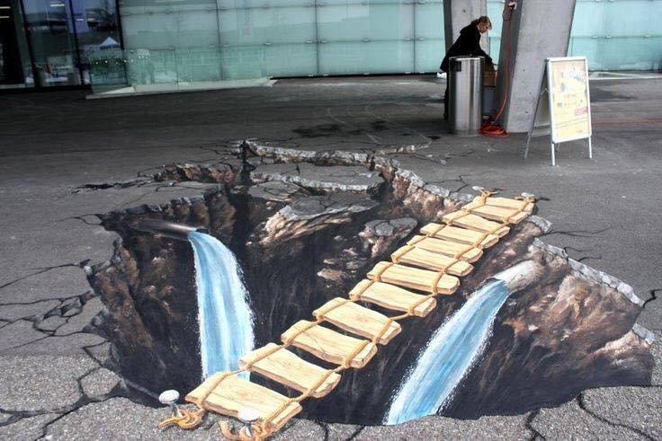 فن# الرسم على #الطريق!! 1