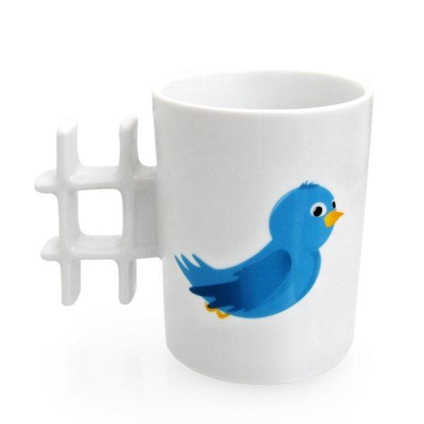 Hashtag Mug #Twitter