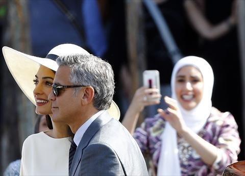 صور زواج جورج كلوني و أمل علم الدين #مشاهير 6