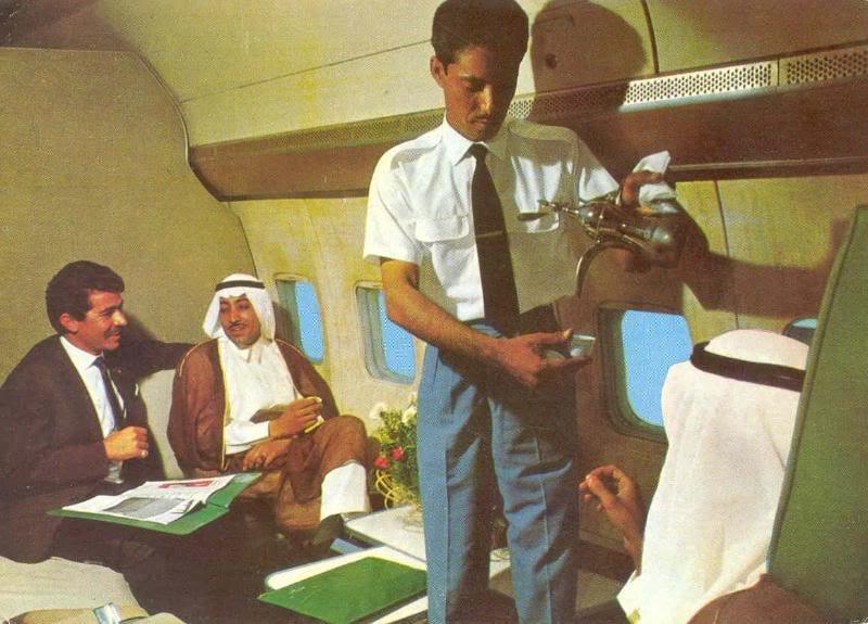 الخطوط الجوية #السعودية في نهاية الستينات #زمن_الطيبين