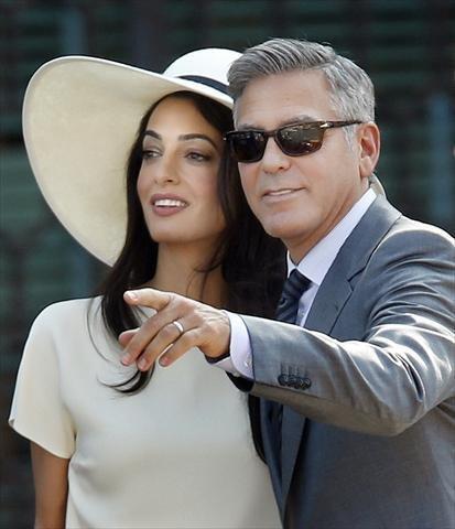 صور زواج جورج كلوني و أمل علم الدين #مشاهير 13
