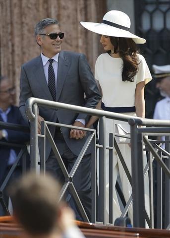 صور زواج جورج كلوني و أمل علم الدين #مشاهير 12