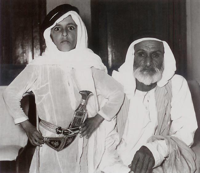 الشيخ حمدان بن راشد آل مكتوم مع علي بن سلطان