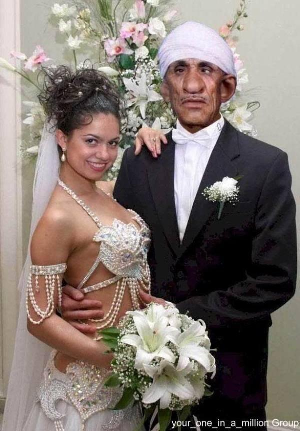 واضح انه تزوجوا عن حب