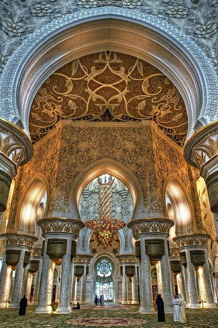 صورة مسجد #الشيخ_زايد الكبير #أبوظبي