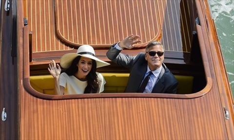 صور زواج جورج كلوني و أمل علم الدين #مشاهير 11