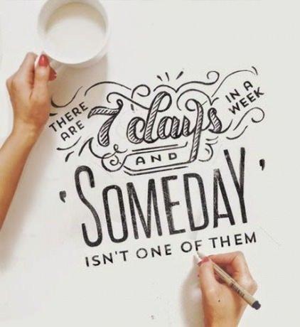 """لما حدا يحكيلك انه \""""يوما ما\"""" سينجح ...."""