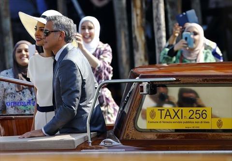 صور زواج جورج كلوني و أمل علم الدين #مشاهير 3
