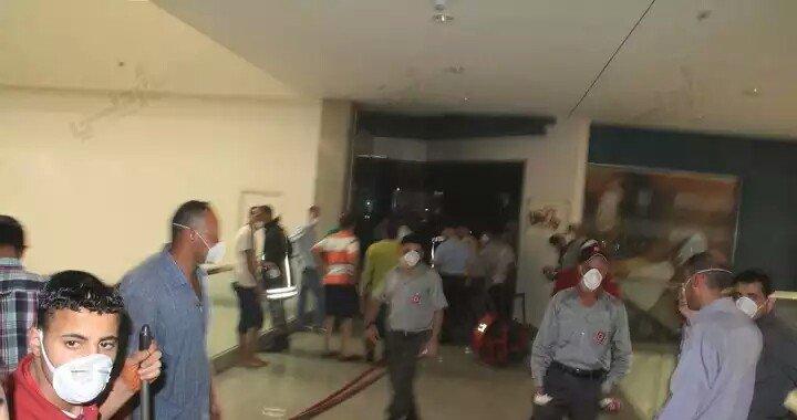 صور حريق مكة مول كما وصلتني #عمان #الأردن 3