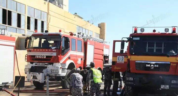 صور حريق مكة مول كما وصلتني #عمان #الأردن 4