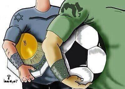 كاريكاتير ساخر ويحاكي الواقع المؤلم..الفرق بين إهتمامات العرب والصهاينة